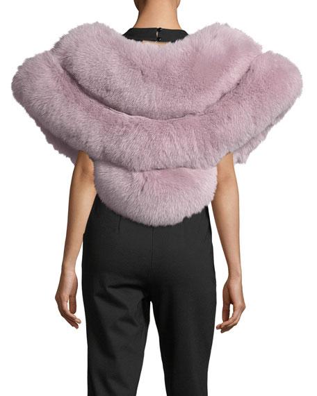 Oversized Fox Fur Stole