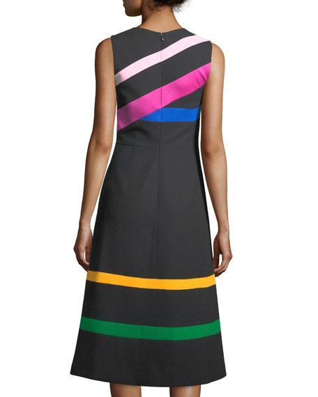 The Landgrove Taped A-Line Dress