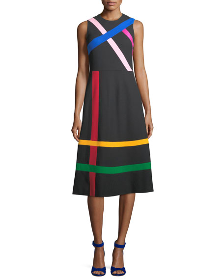 The Landgrove Taped A-Line Dress