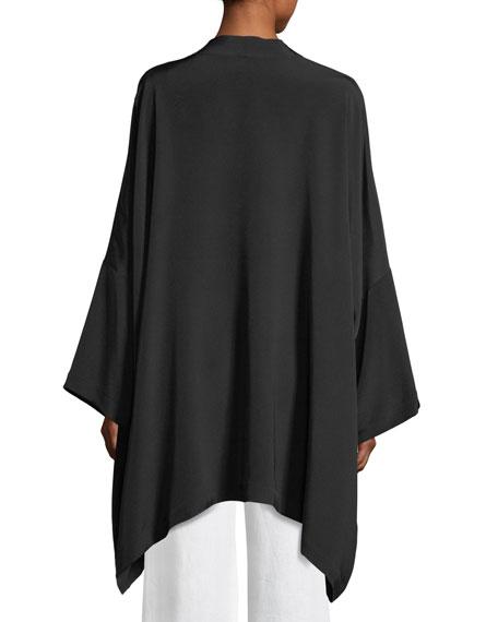 Long Open-Front Jacket