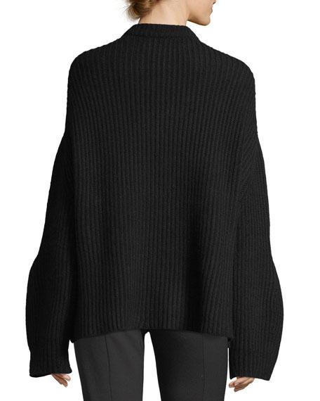Oversized Knit Cashmere Sweater