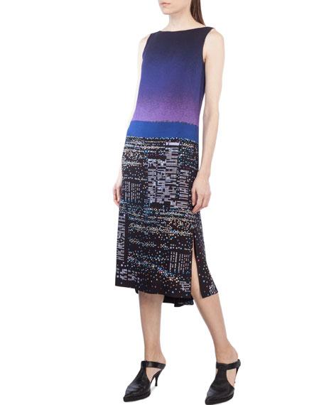 Sleeveless Twilight City Tunic Dress