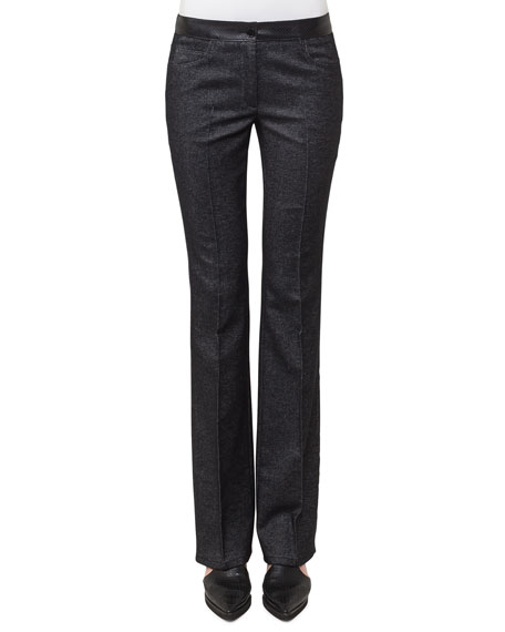 Faye Boot-Cut Denim Pants