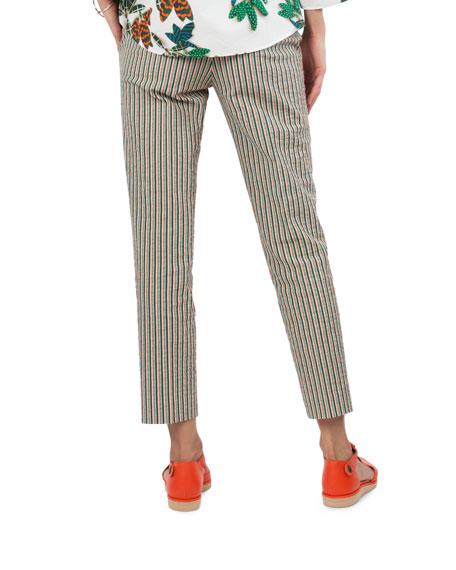 Franklie Striped Seersucker Pants