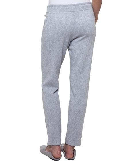 Drawstring Cashmere-Silk Lounge Pants