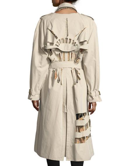 Statue of Liberty Trenchcoat