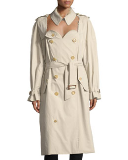 Statue of Liberty Trenchcoat