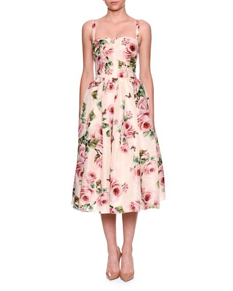 Organza Rose Dress