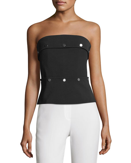 Studded Strapless Corset Top