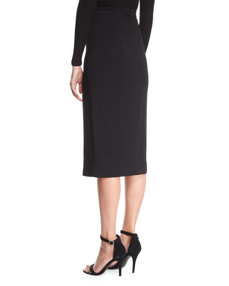 Dahlia Button-Side Slit Skirt