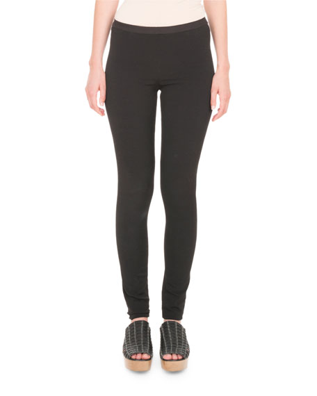 Stretch Grosgrain Leggings