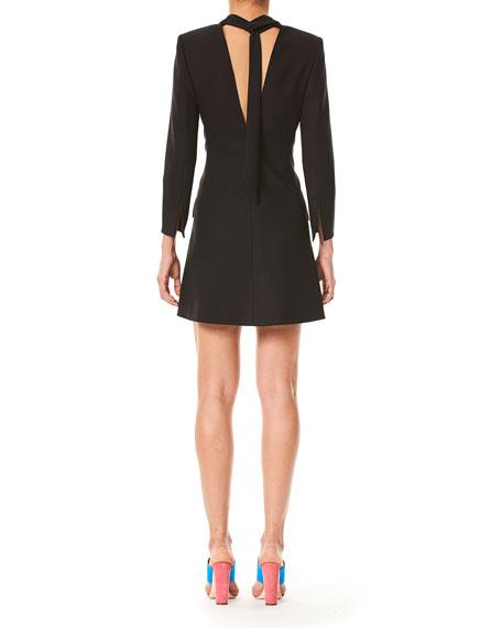 Bracelet-Sleeve Blazer Dress