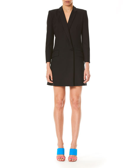 Bracelet-Sleeve Blazer Dress