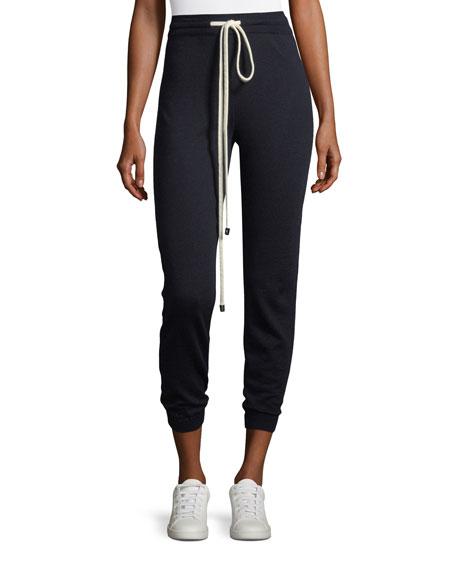 Wool Jogger Pants