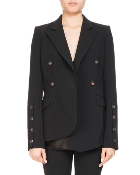 Asymmetric Wrap Front Jacket by Altuzarra