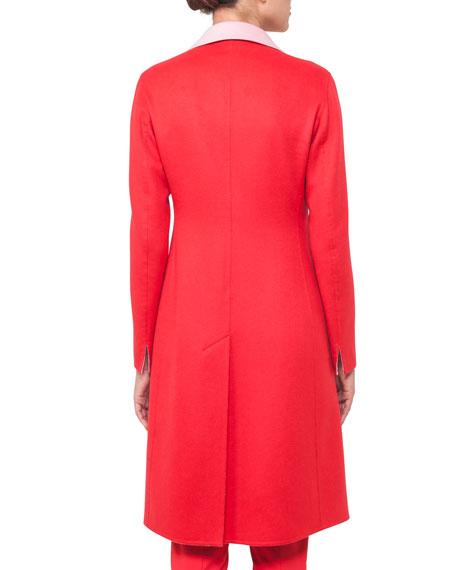 Double-Face Cashmere Coat