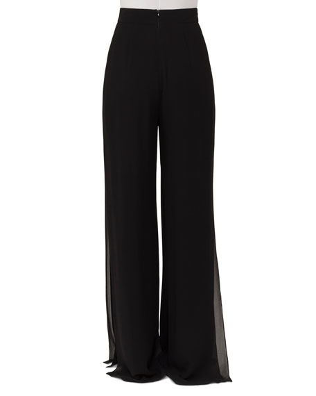 High-Waist Wide-Leg Pants