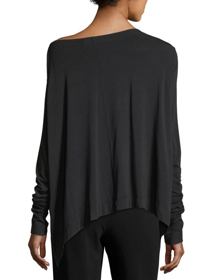 Jersey Off-Shoulder Top