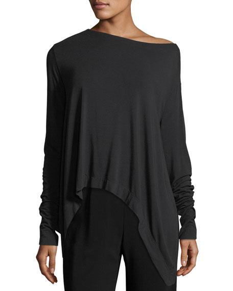 Jersey Off-Shoulder Top