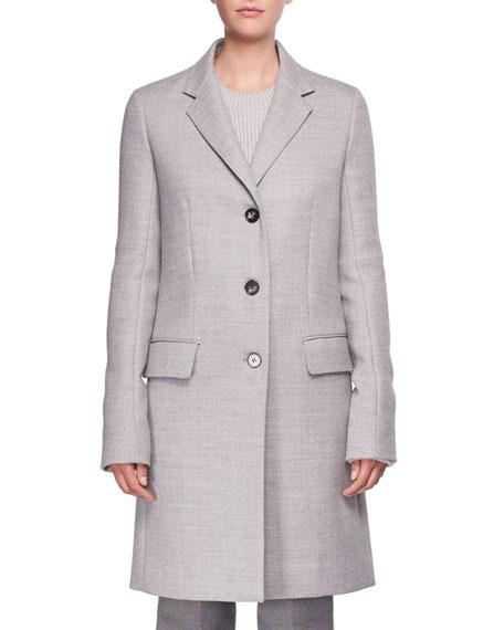 Amutto Three-Button Coat