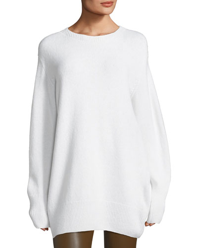 Nolan Oversized Crewneck Sweater
