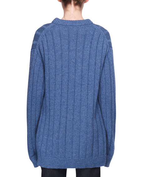 Lillia Oversized Knit Cashmere Sweater