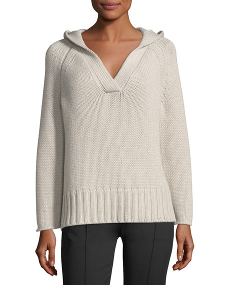 Knit Hoodie Sweater