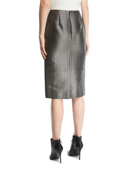 Cynthia Houndstooth Skirt
