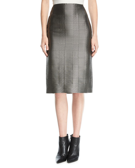 Cynthia Houndstooth Skirt