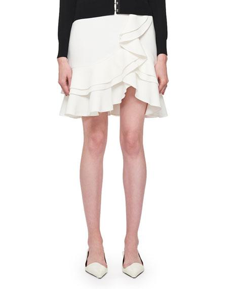 ff362a00a10e Proenza Schouler Ruffled Tulip-Hem Mini Skirt
