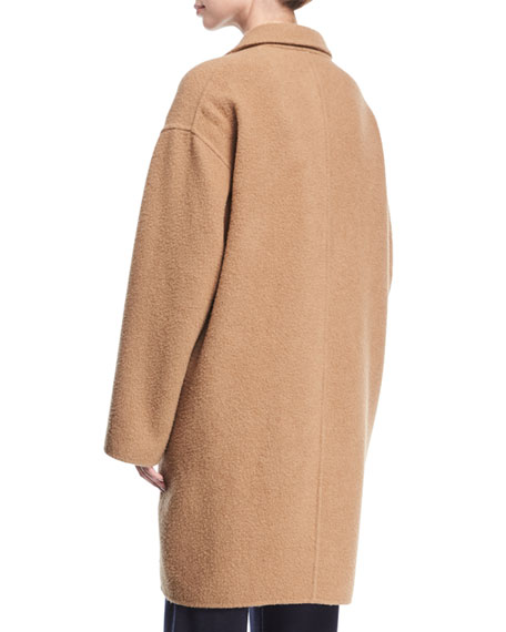 Classic Camel Hair Coat