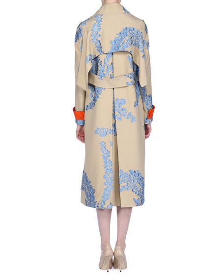 Fil Coupe Trench Coat