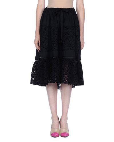 Daisy Sangallo Lace Skirt