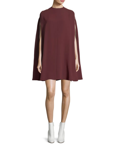 Light Cady Cape Dress