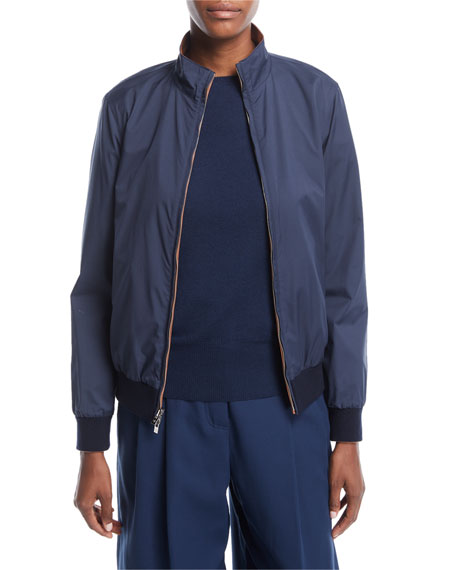 Reversible Storm System® & Leather Bomber Jacket