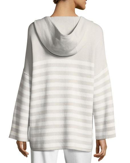 Normandie Reversible Cashmere Hoodie Sweater