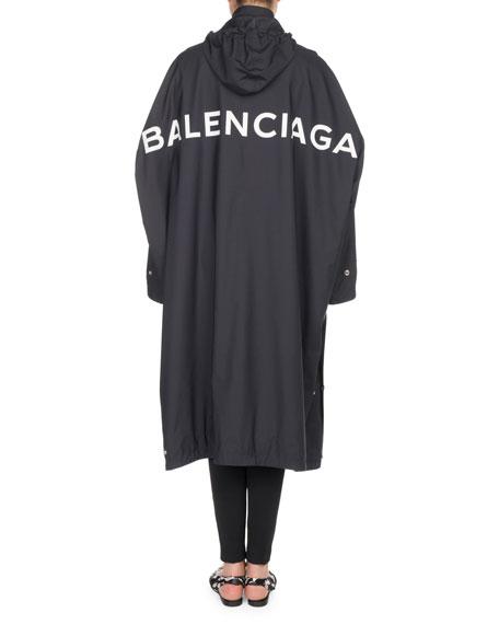 Long Opera Rain Coat