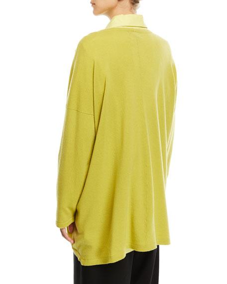 Round-Neck Cashmere Sweater