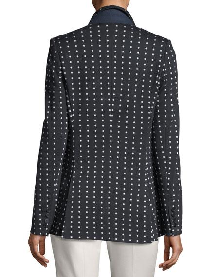 Polka Dot Jersey Jacket