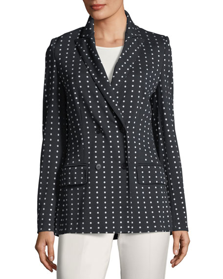 Polka Dot Jersey Jacket