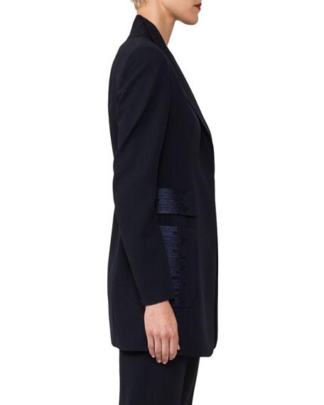 Odisha Threadwork One-Button Jacket