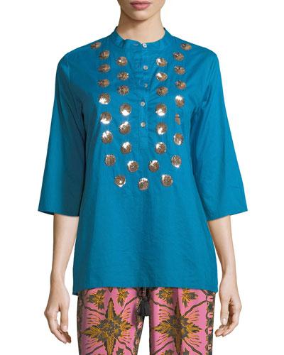 Jasmine Half-Sleeve Tunic