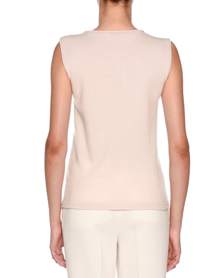 Knitwear Daily Chic Cashmere Sleeveless Top
