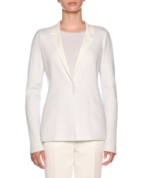 Cashmere Platino Slim-Fit Jacket