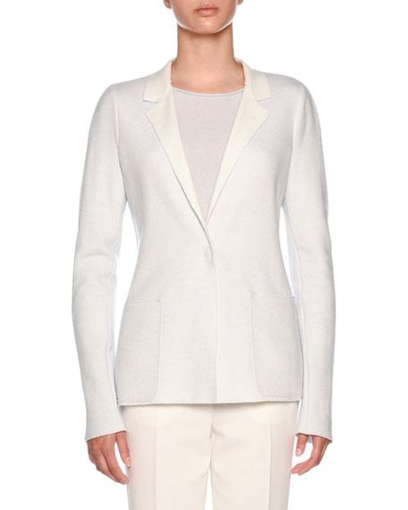 Cashmere Platino Slim-Fit Jacket