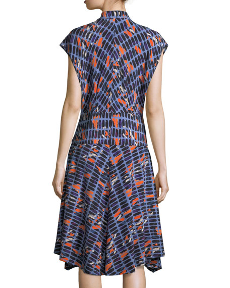 Adi Silk Shirt Dress