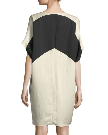 Kai Chevron Tunic Dress