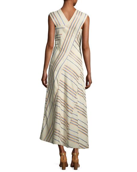 Eve Mosa Striped Midi Dress