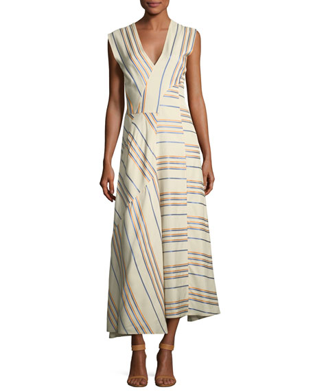 Eve Mosa Striped Midi Dress