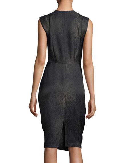 Sleeveless Metallic Goa Dress